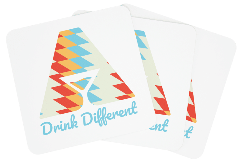 For All Drinks Coaster Drink Different 2